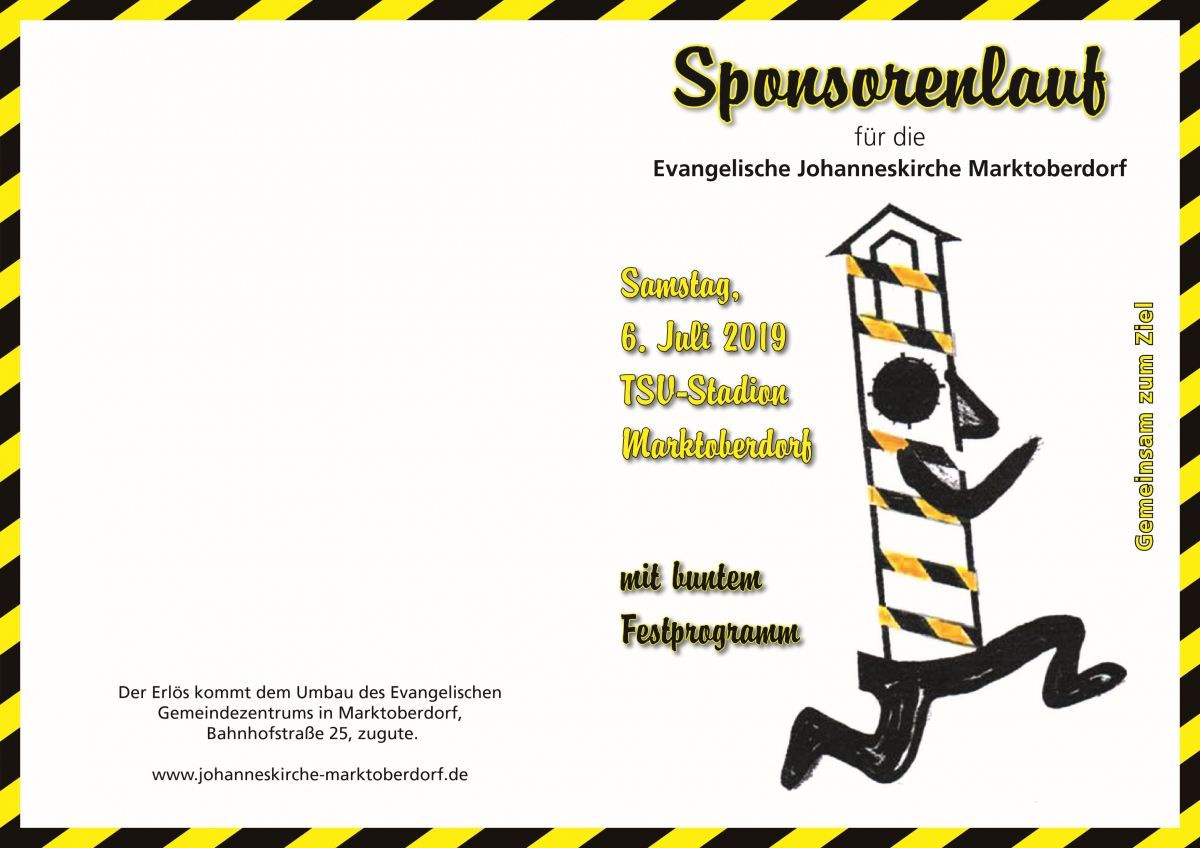 Flyer Sponsorenlauf 2019