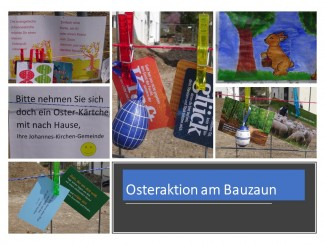 Collage Osteraktion